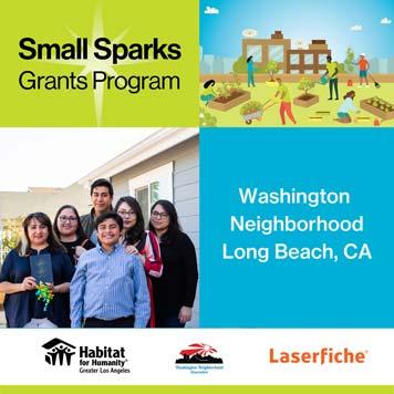 Small Sparks Grants Program Flyer